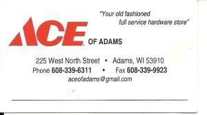 ACE of ADAMS