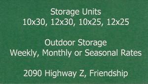 Bucky's Storage